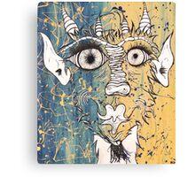 The Hideous Wonders Canvas Print