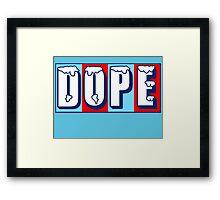 DOPICEE Framed Print