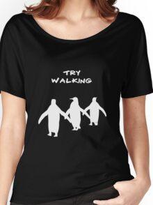 Pingoo white Women's Relaxed Fit T-Shirt