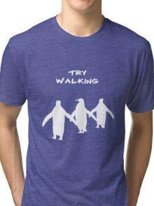 Pingoo white Tri-blend T-Shirt