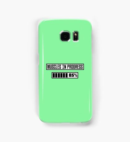 Muscles in progress workout R1l52 Samsung Galaxy Case/Skin