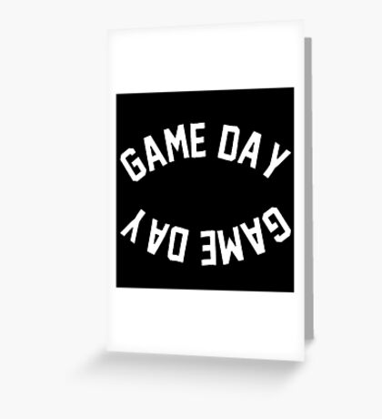 game day Greeting Card