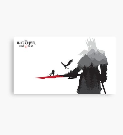 The Witcher 3 - Eredin (Landscape) Canvas Print