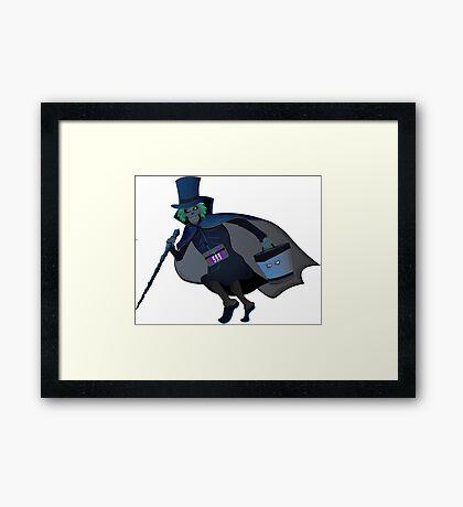 Run Hatty logo Framed Print