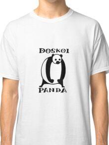 Doskoi Panda Classic T-Shirt