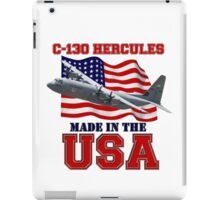 C-130 Hercules Made in the USA iPad Case/Skin