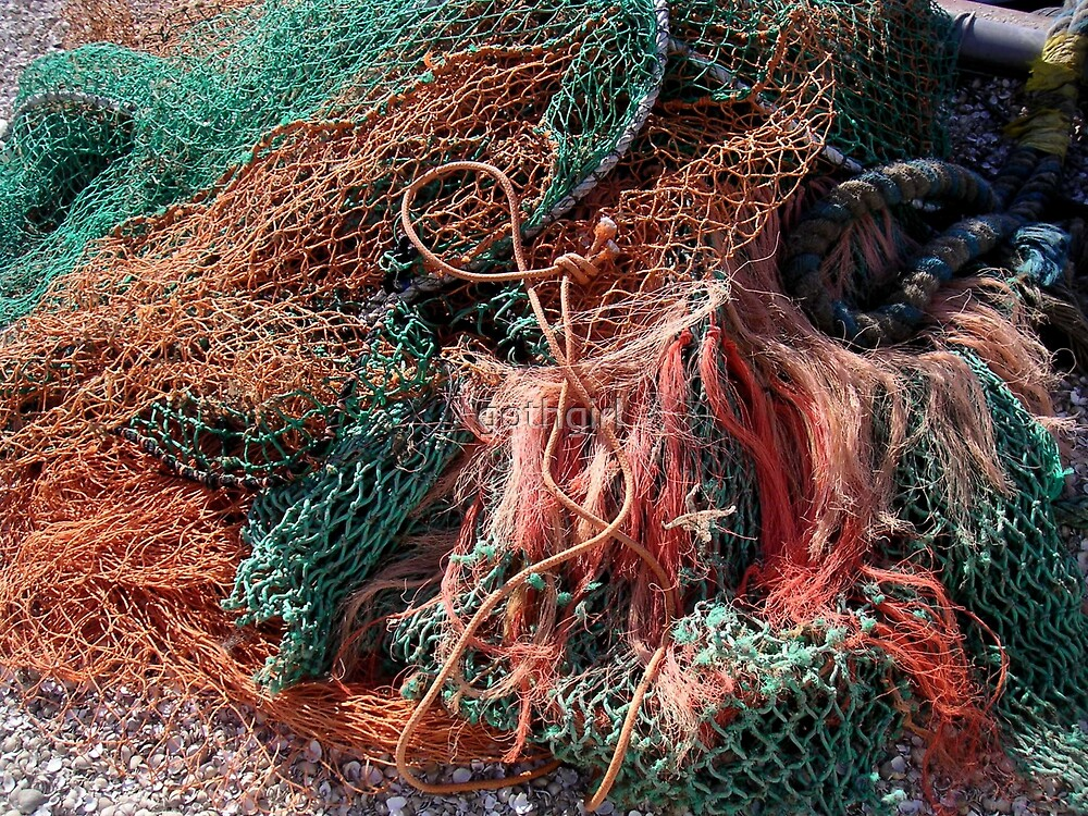 fishing nets by gothgirl