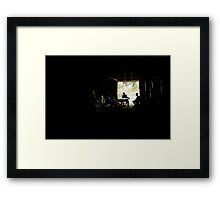 Council meeting Framed Print