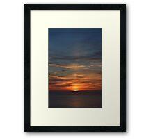 San Francisco Sunset 142 Framed Print
