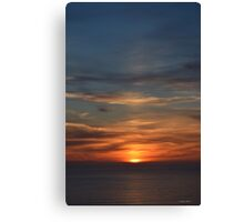 San Francisco Sunset 142 Canvas Print