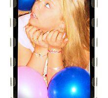 Jana & Balloons by Chasity Edmonson-Hobbs