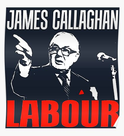 James Callaghan Poster
