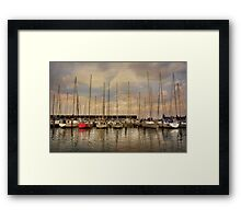 Waiting For The Weekend Framed Print