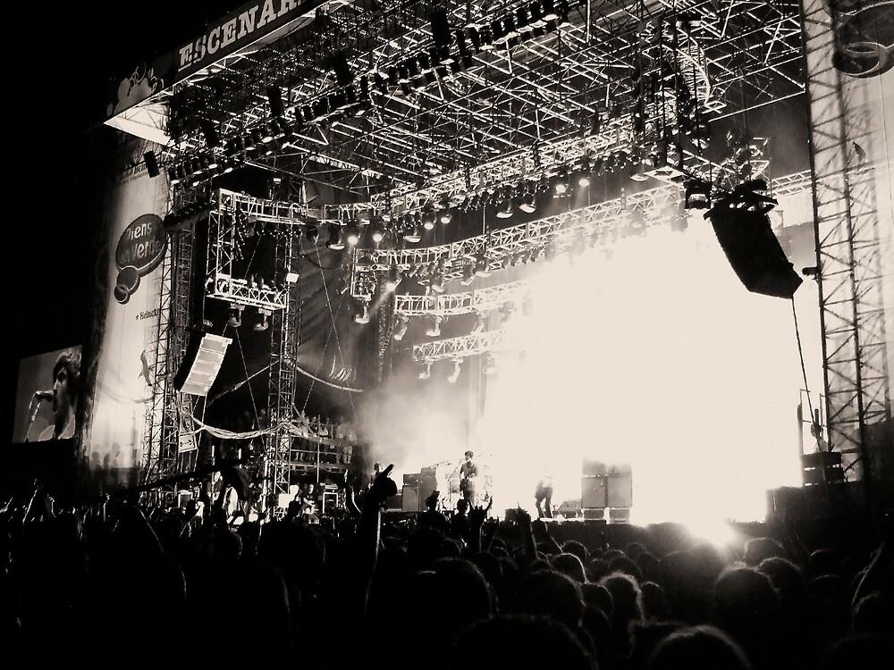 Arctic Monkeys @ Benicassim 2007 by max1210