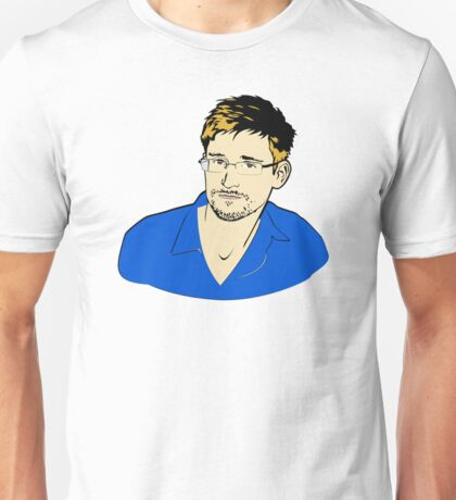 Edward Snowden Unisex T-Shirt