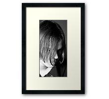 Troubled Mind Framed Print