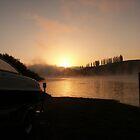Dawn at Karapiro by Truely