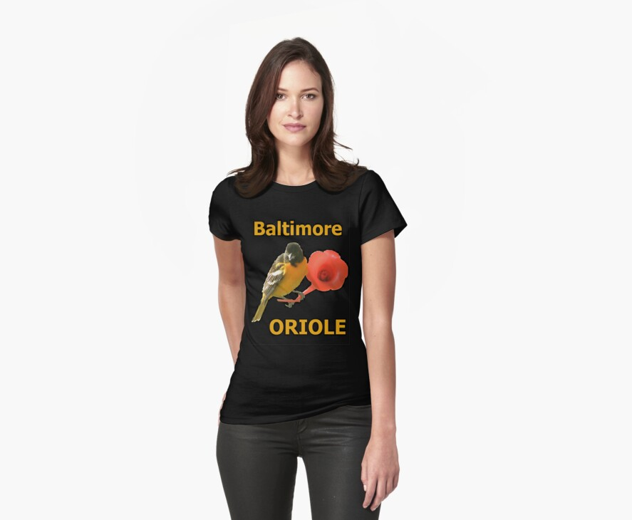 TSHIRT Baltimore Oriole by Dominic Melfi