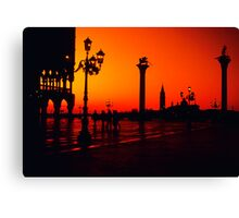 Venice - Piazza San Marco - Italy Canvas Print