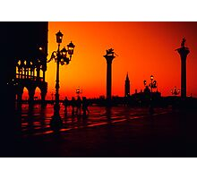 Venice - Piazza San Marco - Italy Photographic Print