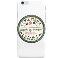Mumford & Sons Embroidery Style Lyrics iPhone Case/Skin
