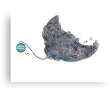 Nemos Loves Manta Rays Canvas Print