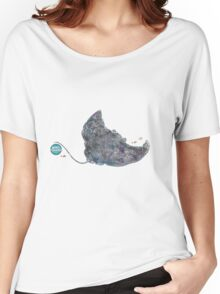 Nemos Loves Manta Rays Women's Relaxed Fit T-Shirt