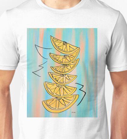 A Stack of Lemon Slices - Modern Unisex T-Shirt