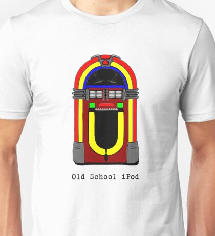 Old School iPod - Colour Unisex T-Shirt