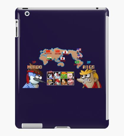 Choose your fighter iPad Case/Skin