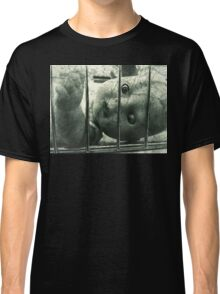 Creepy doll in a cage Classic T-Shirt