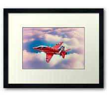"""RAF """"Red Arrows"""" Hawk Framed Print"""