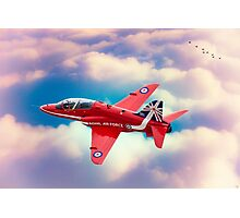 "RAF ""Red Arrows"" Hawk Photographic Print"