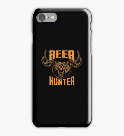 Beer Hunter iPhone Case/Skin
