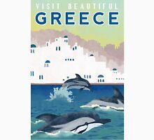 Greece Travel Poster Unisex T-Shirt