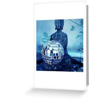 Disco Buddha Greeting Card