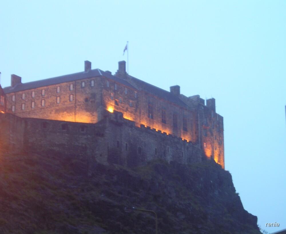 Edinburgh Castle by renie