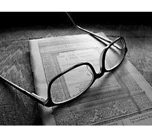 Reading Nathaniel Hawthorne Photographic Print