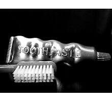Tooth Paste Photographic Print