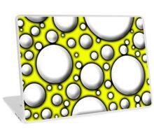 Yellow Mushroom Design Laptop Skin