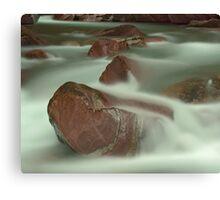 Avalanche Creek II, Glacier NP Canvas Print