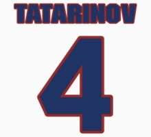 National Hockey player Mikhail Tatarinov jersey 4 by imsport