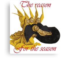 Baby Jesus: The Reason for the Season Canvas Print