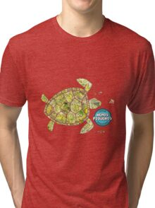Turtles love Nemos  Tri-blend T-Shirt