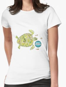 Turtles love Nemos  Womens Fitted T-Shirt