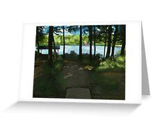 Benjamin View Greeting Card