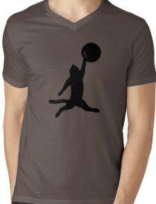 Air Cat Mens V-Neck T-Shirt