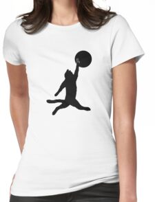 Air Cat Womens Fitted T-Shirt