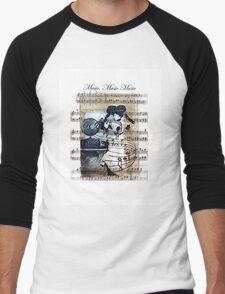 Music Music Music Men's Baseball ¾ T-Shirt