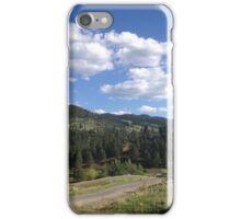 Mountain trail iPhone Case/Skin